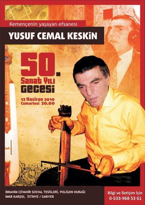 Yusuf Cemal Keskin 50. Yıl Sanat Gecesi