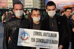 çernobil protestosu